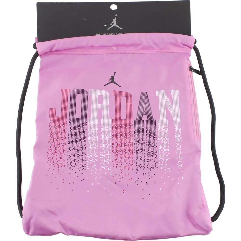 Nike Jordan Pink Drawstring Bag | Back To School | Pinterest ...