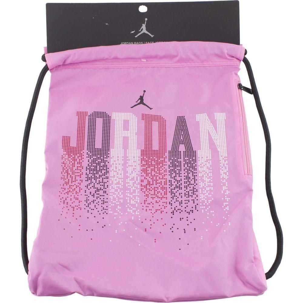 ee0661aabf Nike Jordan Pink Drawstring Bag