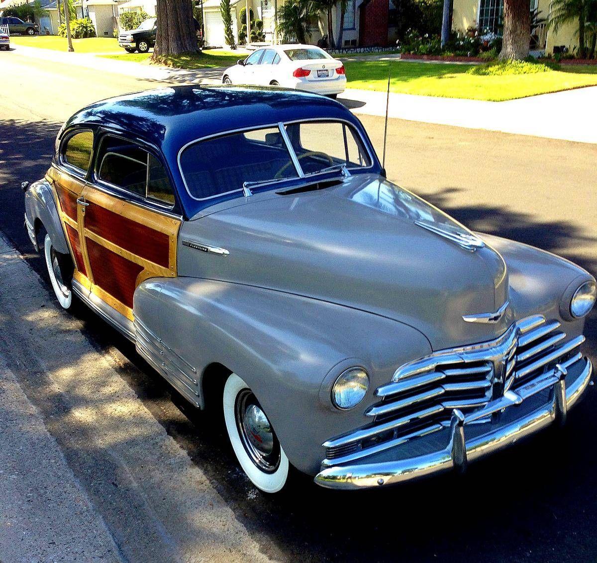 Chevy fleetline woody mile car hemmings