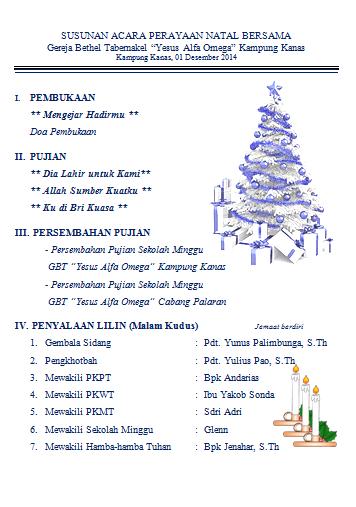 Contoh Liturgi Natal Atau Tata Ibadah Perayaan Natal Lengkap Dengan Lirik  Lagu | Natal, Lirik Lagu, Lagu