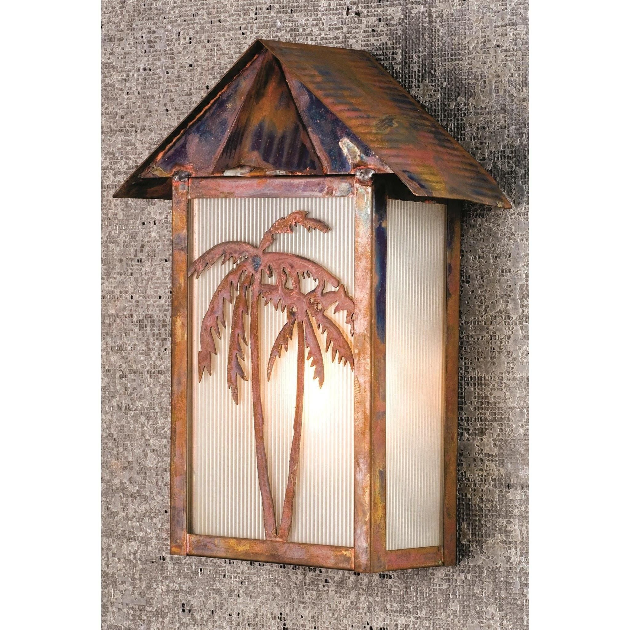 95 inch w tropical floral palm tree wall sconce tree wall wall 95 inch w tropical floral palm tree wall sconce amipublicfo Image collections