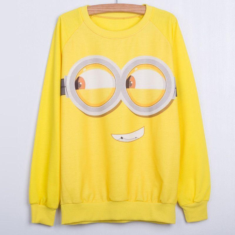 New 2015 Autumn Fashion 3d Print Cotton Cartoon women hoody Long sleeve thin style Hoodies Sweatshirts Spongebob Print casual