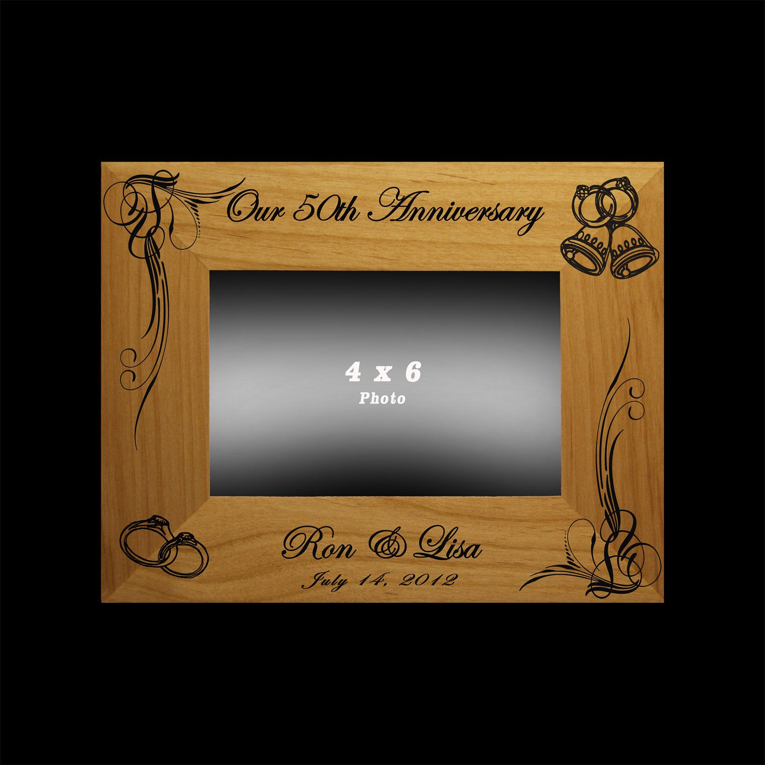 Anniversary Gift 25th 50th Wedding Anniversary Personalized