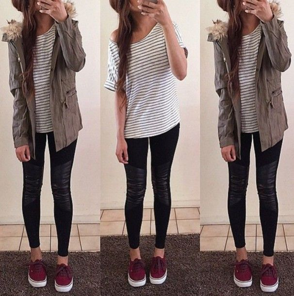 Summer Outfit With Vans