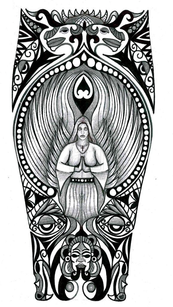 Mexican Aztec Tattoo Drawings Best Tattoo Ideas