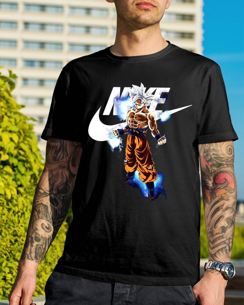 dragon ball z nike shirt
