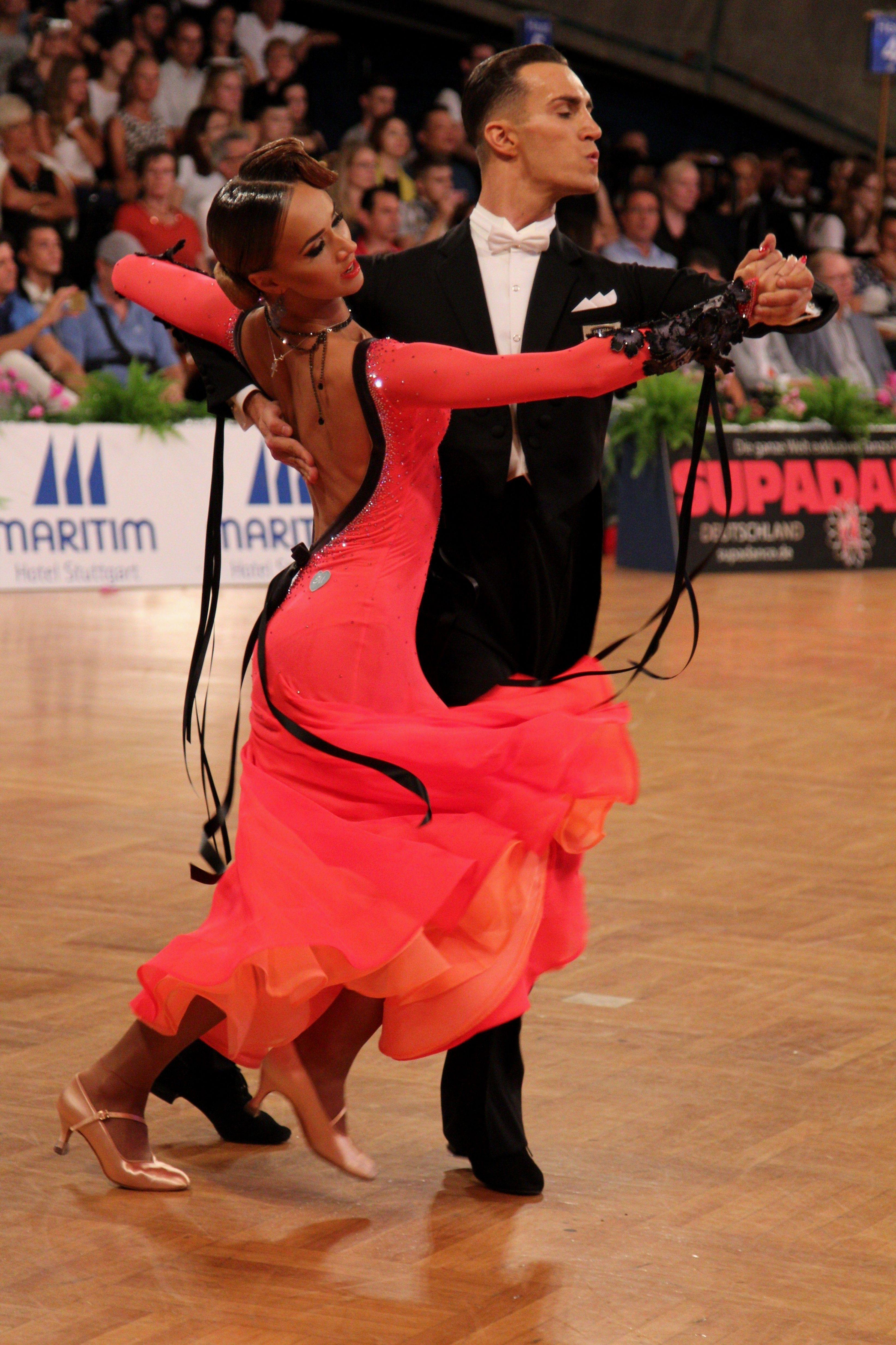 Salsa Dancing For Fitness Ballroom Dancing Hull Ballroom Dancing Is As Popular As At Any Time O Dancesport Dresses Ballroom Dress Inspiration Dance Dresses