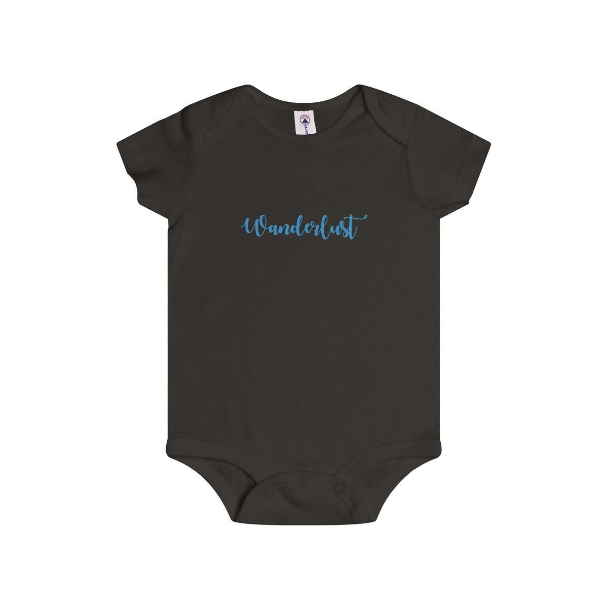 Wanderlust Infant Rip Snap Tee
