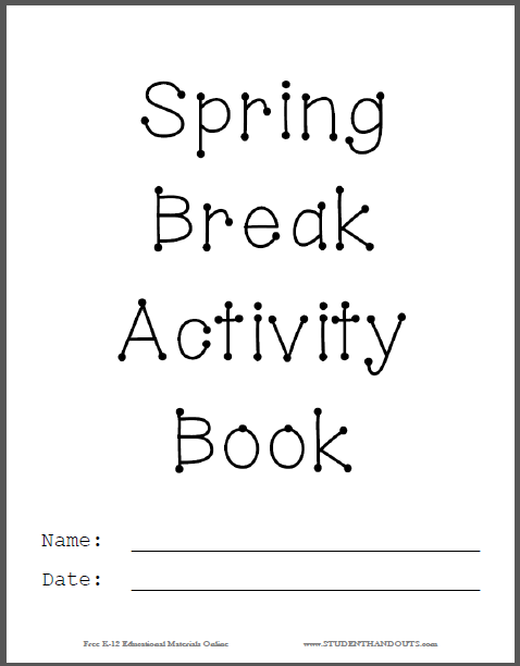 Spring is in the air! This free printable helps you to