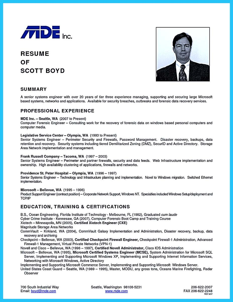 nice Best Data Scientist Resume Sample to Get a Job, Check