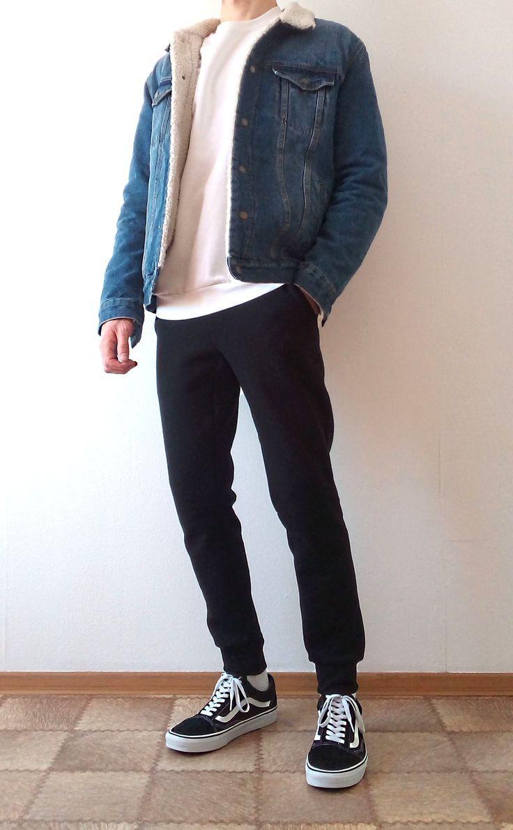 vans old skool boys jungs outfit | Vans lieben