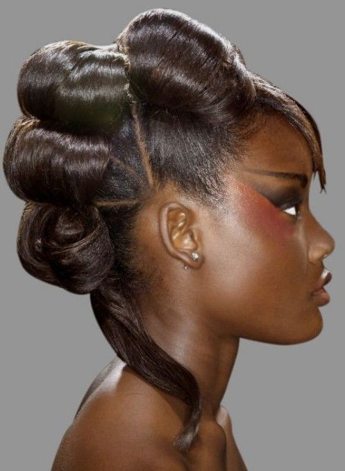 Wedding Hairstyles African American Brides