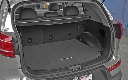 Kia Sportage 2010 Model Trunk Space Kia Sportage Sportage Kia