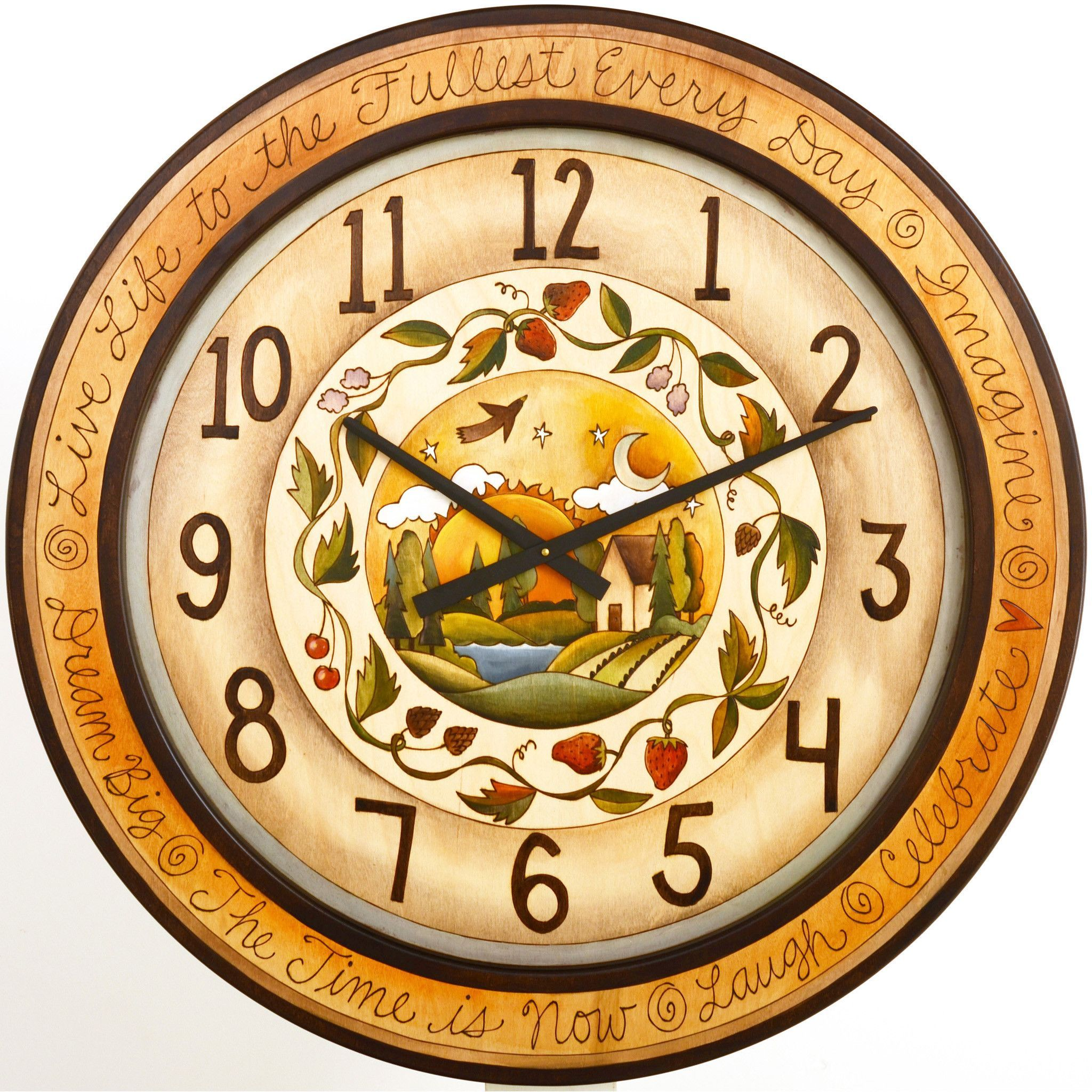 Round Wall Clock by Sticks CLK007, CLK014, CLK015, D71292 | Clocks ...