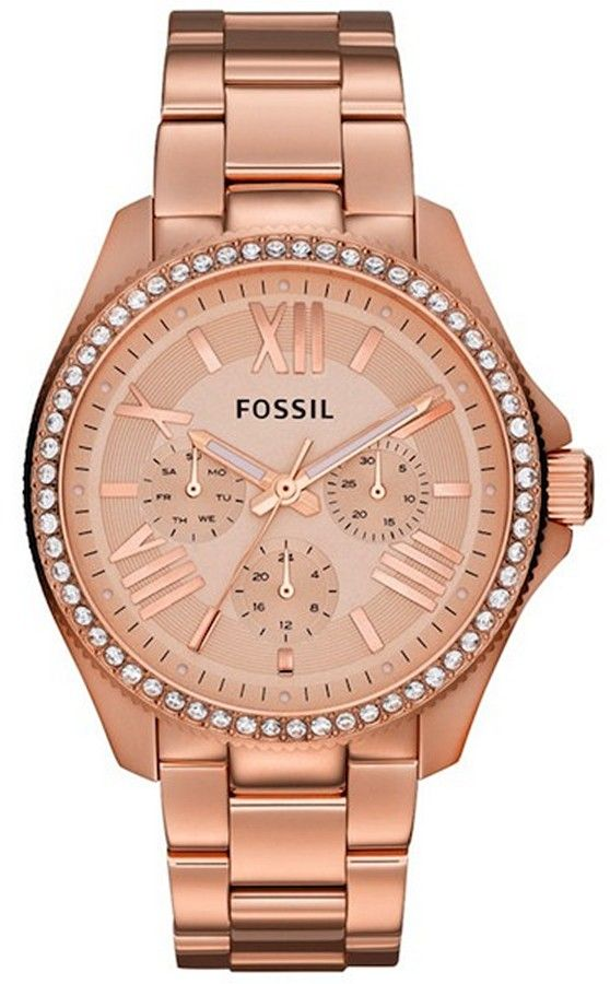 4f3541a77390 AM4483 - Authorized Fossil watch dealer - LADIES Fossil CECILE ...