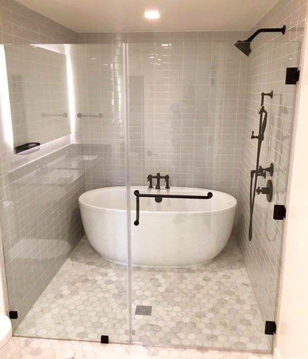 Tub Inside Shower Design Ideas In 2020 With Images Bathroom