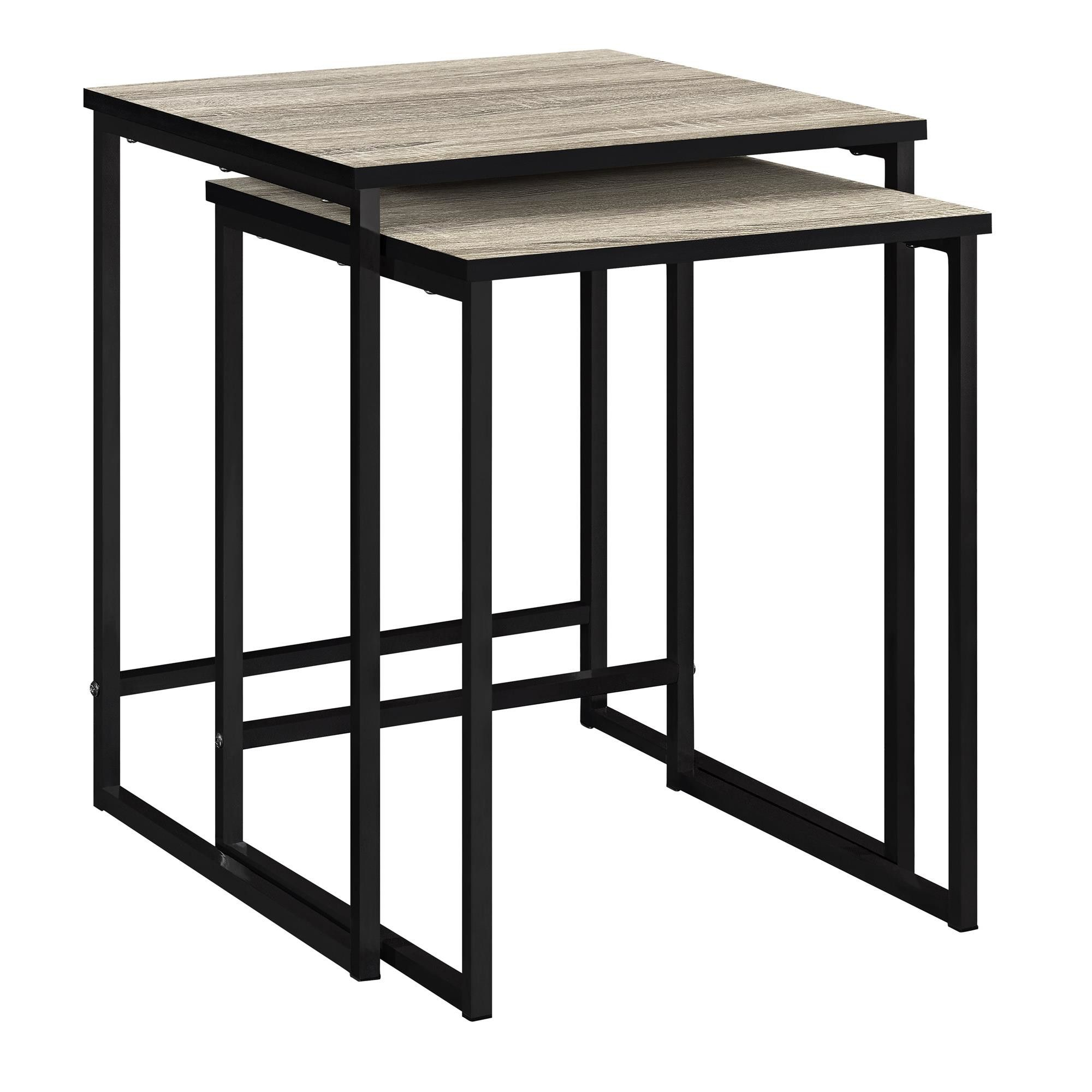 Perfect Nesting Table For Living Room Staging Sousanna 2 Piece