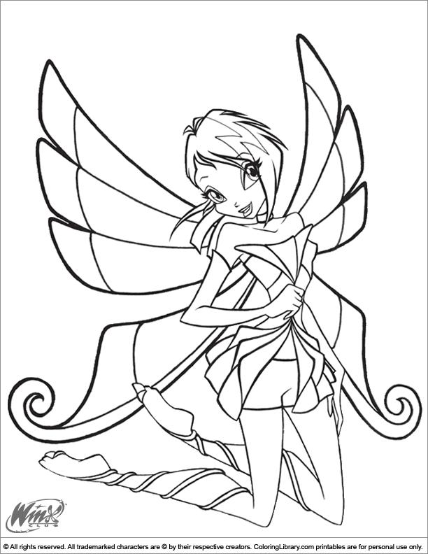 Winx Club coloring page | dibujos muñecas | Pinterest | Ausmalbilder ...