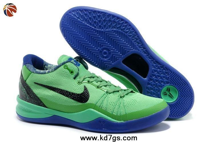 more photos aa2ba 8334f Authentic Superhero Nike Kobe 8 System Elite GC 586590-300 Poison Green