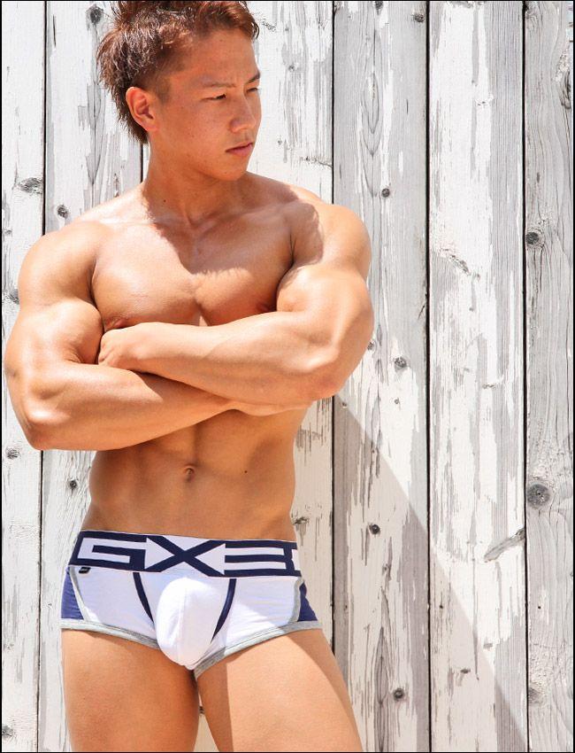 03ab69a067abea Hey Cutie in GX3! | Any Interesting Things | Swim trunks, Asian men ...