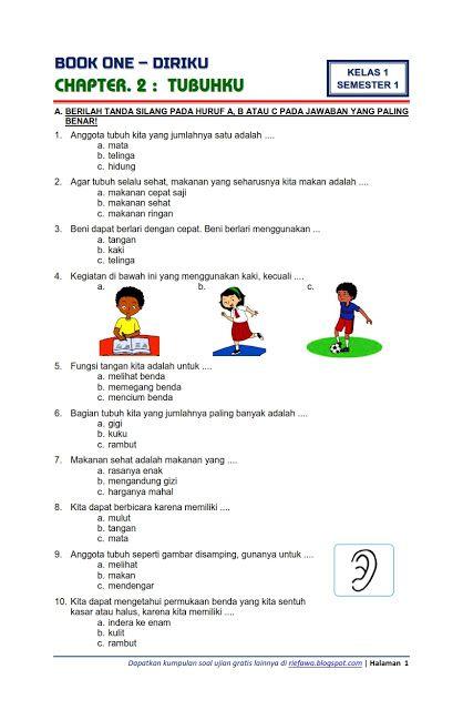 Soal Ulangan Harian Tema 1 Kelas 1 Sd : ulangan, harian, kelas, Ulangan, Harian, Jawaban, Kelas, Revisi, Terbaru, Cute766