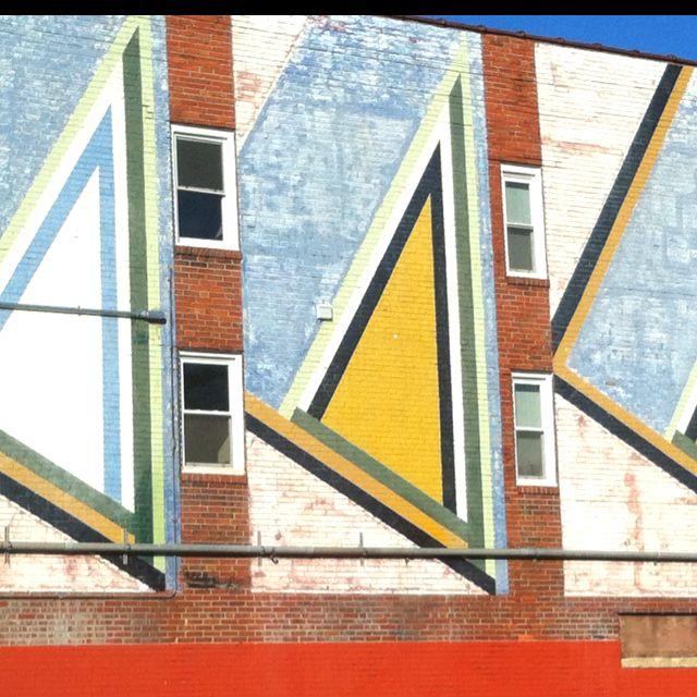 Wall mural in Columbus, OH.