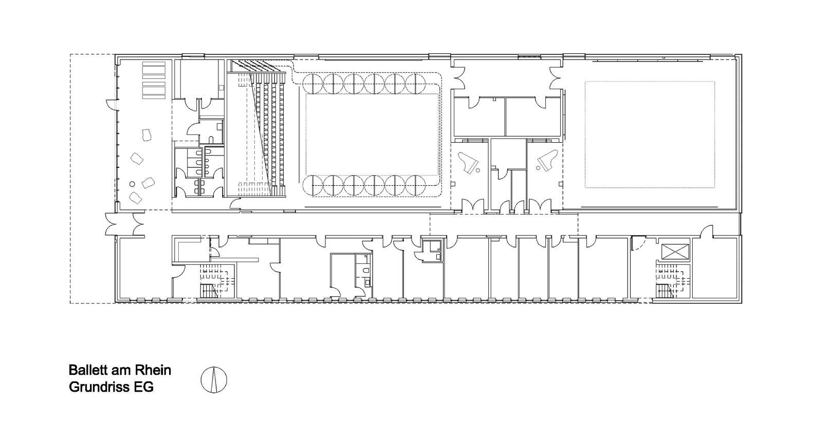 Gallery Of Ballet Am Rhein Gmp Architekten 11 Wiring Diagram Solar Pv