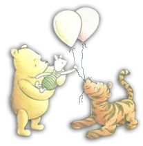Old fashioned winnie the pooh baby shower 87