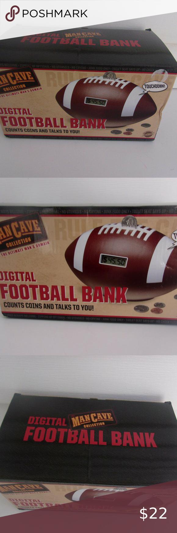 Eb Brands Man Cave Football Digital Bank New In 2020 Brand Man Cave Football