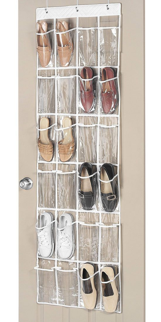 Over The Door Shoe Organizer Easy Shoe Storage Ideas For Small Spaces Easy Closet
