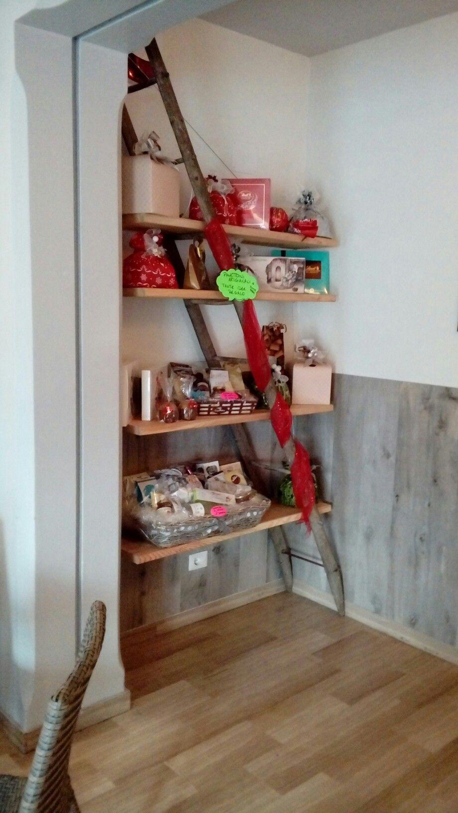 Mensole scala vecchia shelves old scale