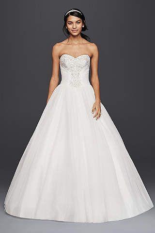 Vestidos de novia corset princesa