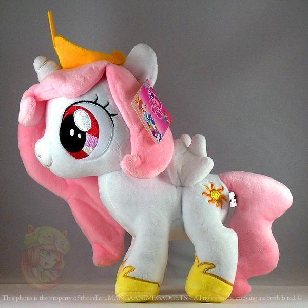 Filly Celestia Plush Doll 12 30 Cm My Little Pony Princess Celestia Uk Stock My Little Pony Princess Plush Dolls My Little Pony