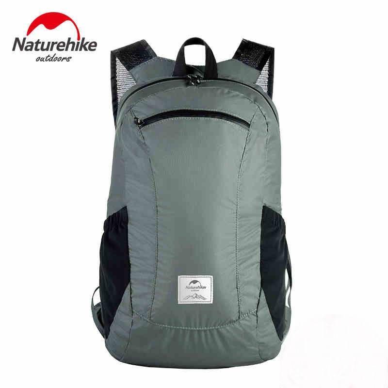 52153930fb31 18L Outdoor Folding 30D Nylon Waterproof 2000+Backpacks Ultralight ...