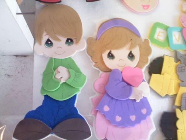 moldes para hacer niños de foami - Buscar con Google | GOMA EVA ...