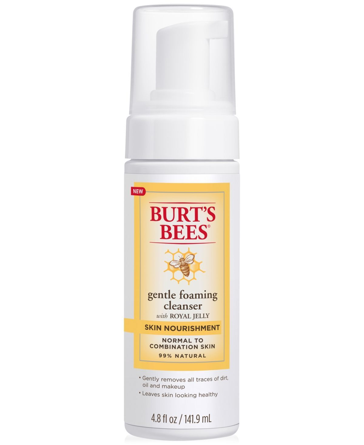 Burt S Bees Skin Nourishment Gentle Foaming Cleanser 4 8 Fl Oz Beauty Bees Best Beauty Products Of All Time Skincare In 2020 Foam Cleanser Skin Care Mask Skin Care