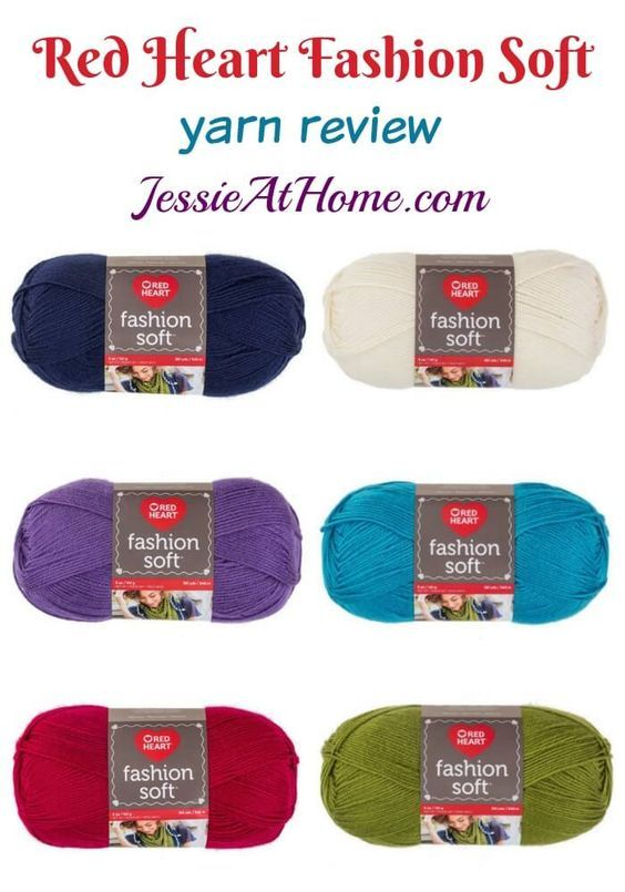 Red Heart Fashion Soft yarn review from Jessie At Home: | Crochet ...
