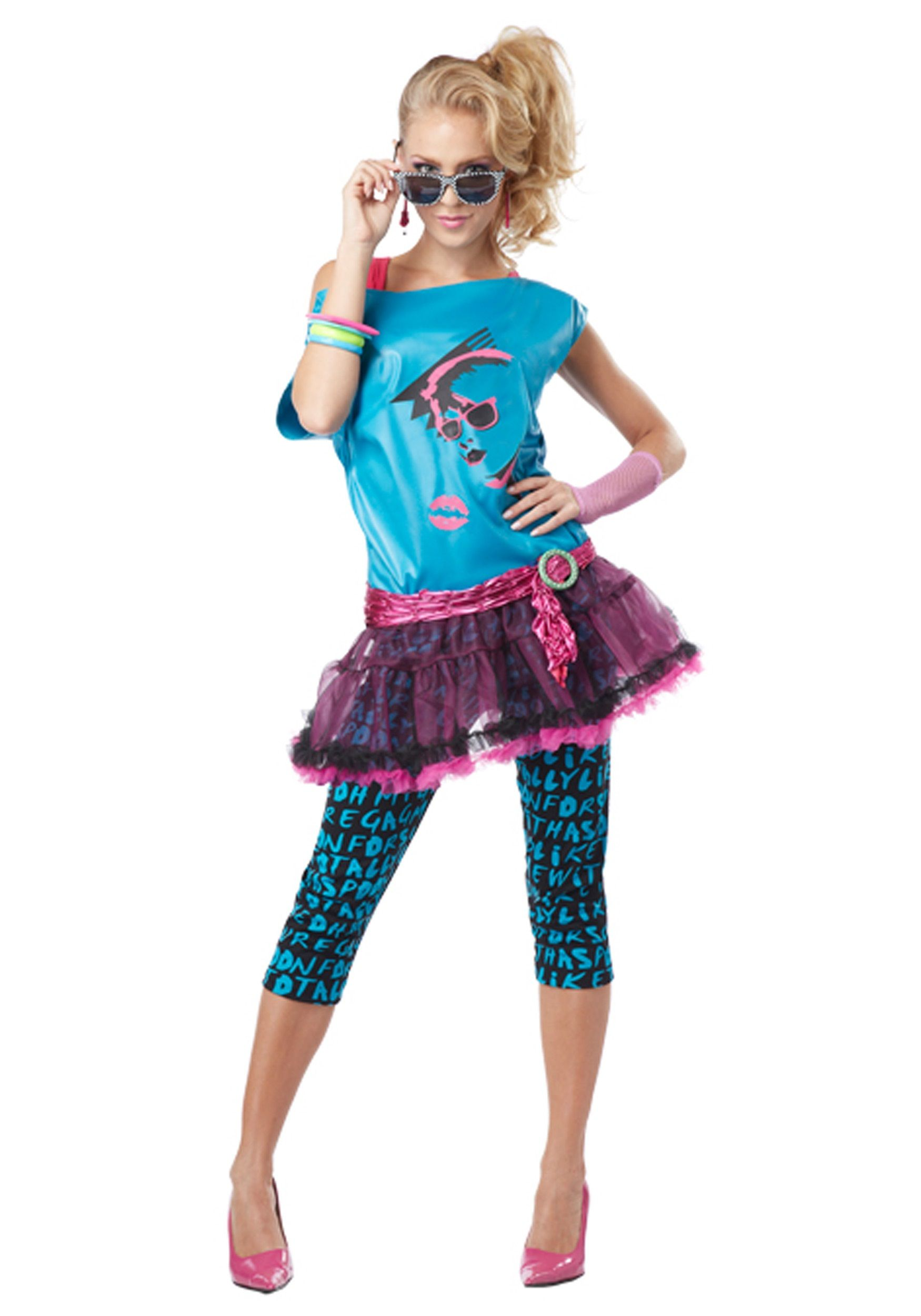 Dress code eighties - 80s Costumes Kids And Adults 80s Outfits Halloweencostumes Com