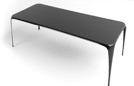 Sedie e tavoli in fibra di carbonio by MAST 3.0 (con