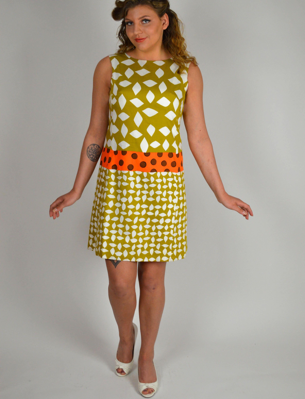 Vintage Dress Shift Dress Sheath Dress Novelty Pattern Etsy Shift Dress 1960s Vintage Clothing Vintage Dresses [ 3000 x 2295 Pixel ]
