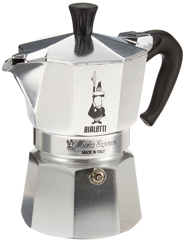 Bialetti Moka Express Cafetera espresso para 3 tazas