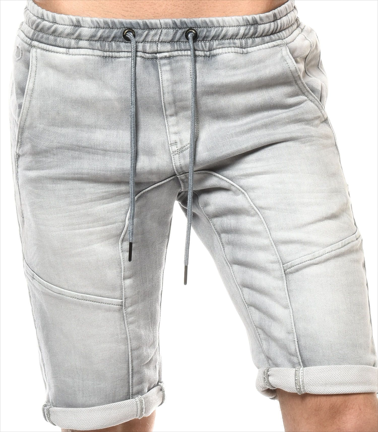 H.Landers Short Jeans Jogg HL Broome Mode Homme Urban  9949ebbddd9