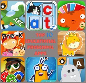 Preschool Apps for Development (cognitive, communication, adaptive, social-emotional, physical). Great resource for parents, teachers, and educators.