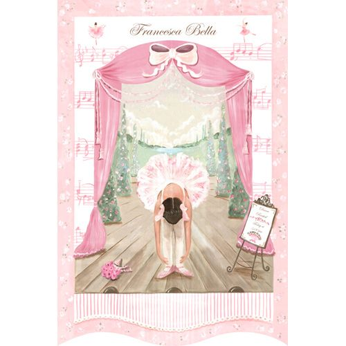 Prima Ballerina Recital Wall Hanging from PoshTots
