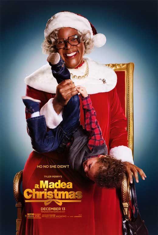 Tyler Perry S A Madea Christmas 27x40 Movie Poster 2013 Madea