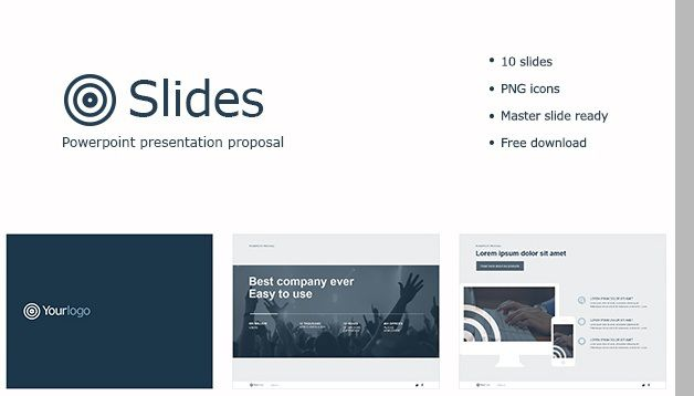Clean And Sophisticated Ppt Template  List Of Free Powerpoint