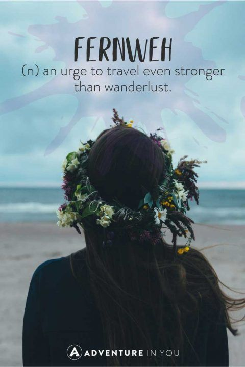 Unusual Travel Words with Beautiful Meanings | travel love | Travel