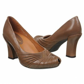 Earthies Raynia Shoes (Taupe Khaki Leather) - Women's Shoes - 8.0 M