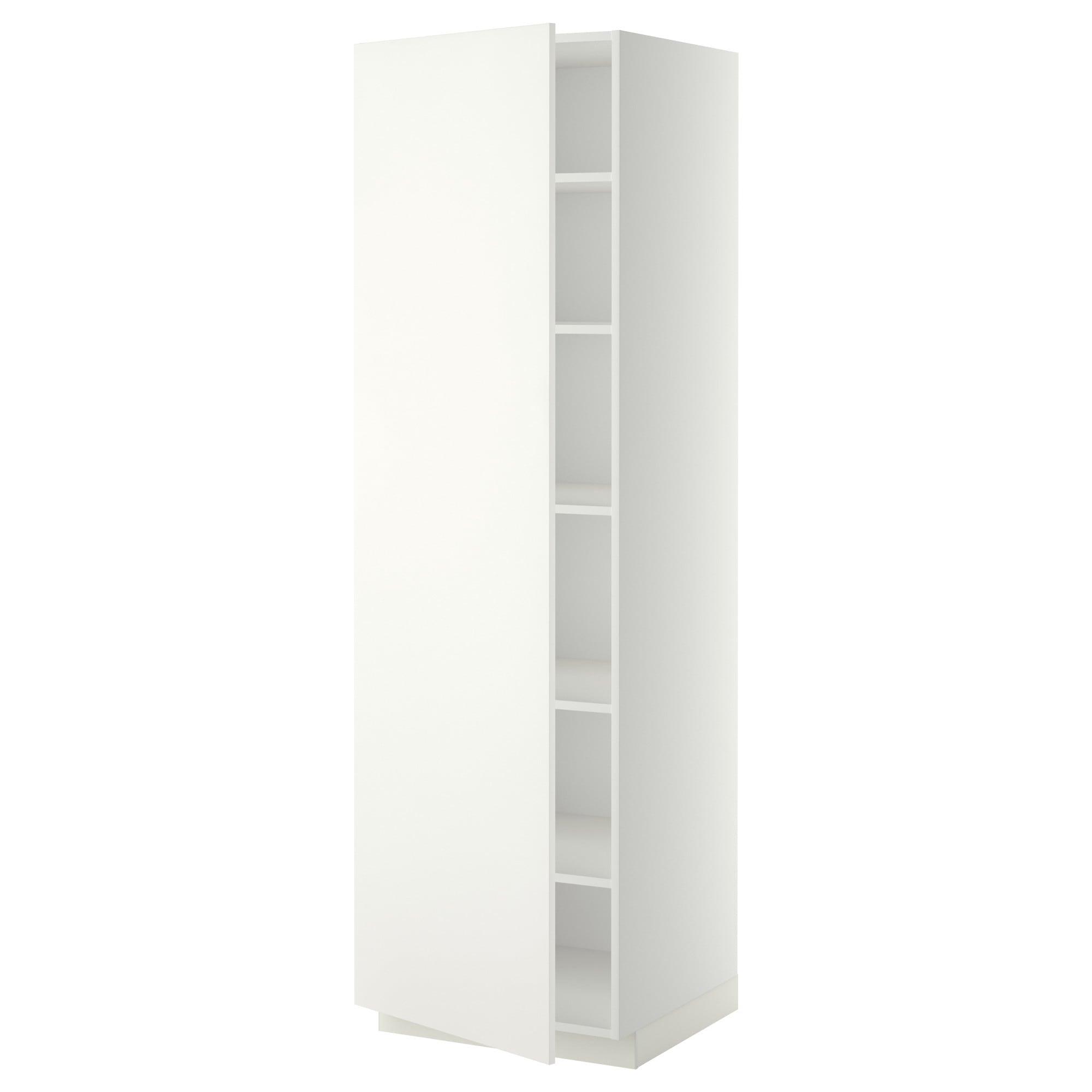 Metod Weiss Hochschrank Mit Einlegeboden Frame Colour Weiss Haggeby Hochschrank Ikea Einbauschrank