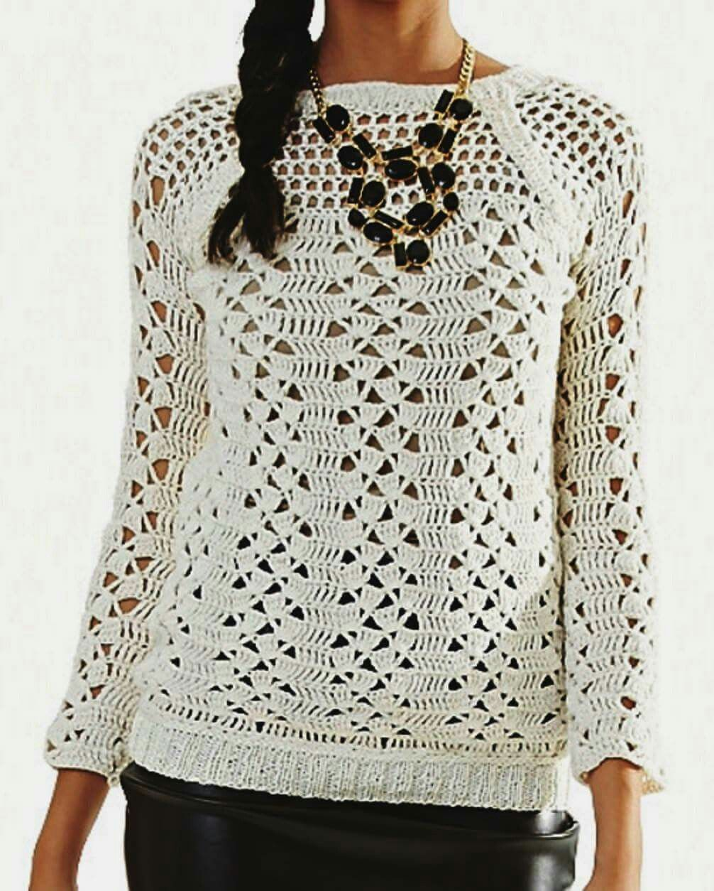 Knitted Blouse Free Pattern